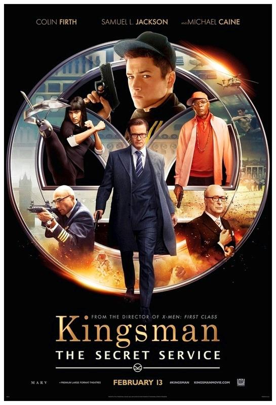 Kingsman The Secret Service Movie 2015 Popcorn Entertainment Reviews