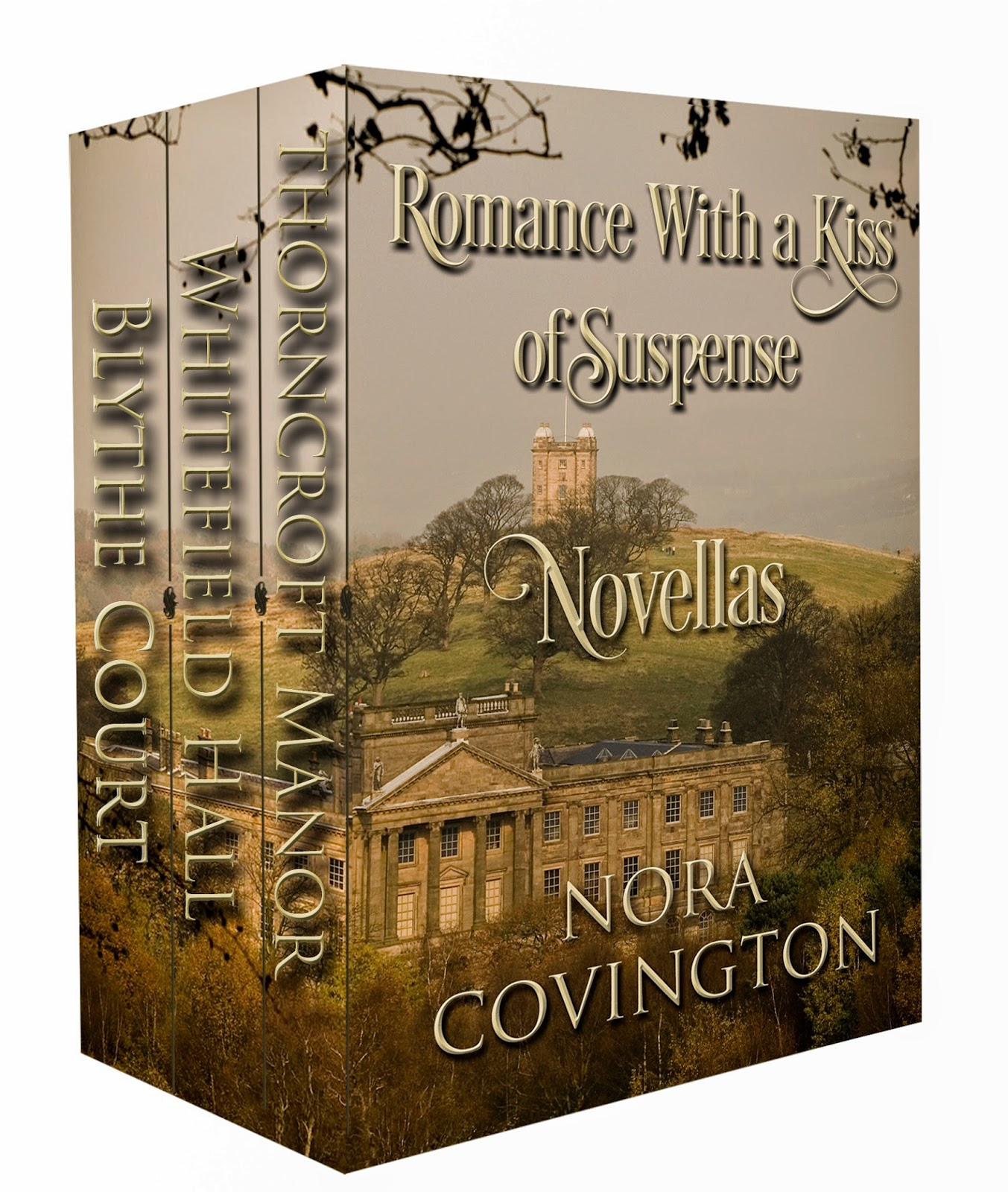 Box Set Romance With a Kiss of Suspense ($3.99)