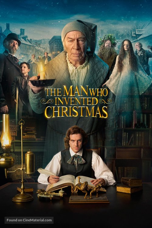 the-man-who-invented-christmas-poster