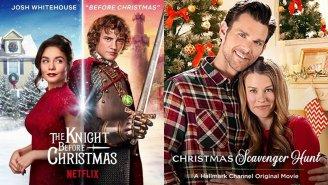 Christmas Movies Popcorn Entertainment